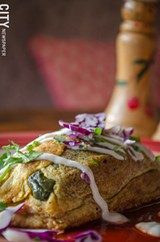 PHOTO BY MARK CHAMBERLIN - A chili relleno at La Casa Restaurant in the South Wedge.