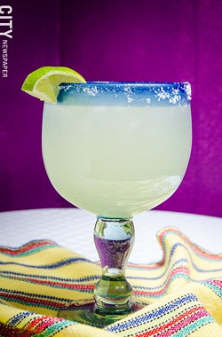 A margarita from Rio Tomatlan. - PHOTO BY MARK CHAMBERLIN