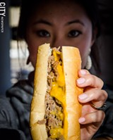 A Philly Steak sandwich from Mac's - PHOTO BY MARK CHAMBERLIN
