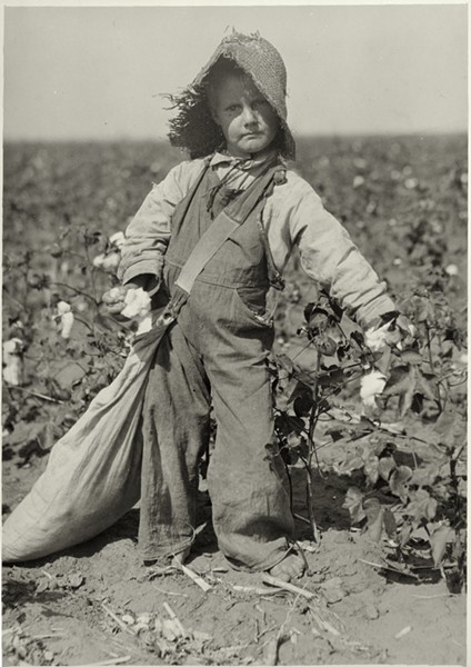 A photograph part of Lewis Hine's series on child labor. The image is part of the George Eastman House's collection of Hine's work. - PHOTO COURTESY GEORGE EASTMAN HOUSE