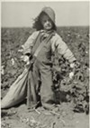 A photograph part of Lewis Hine's series on child labor. The image is part of the George Eastman House's collection of Hine's work.