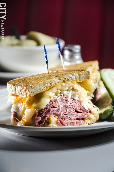 A Reuben from Fox's Deli - PHOTO BY MARK CHAMBERLIN