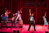 """PHOTO BY COLIN HUTH - A scene from one of the musical numbers of """"The 25th Annual Putnam County Spelling Bee,"""" which is now playing at Geva Theatre."""