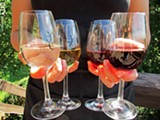 PHOTO BY DAYNA PAPALEO - A selection of Red Newt wines.