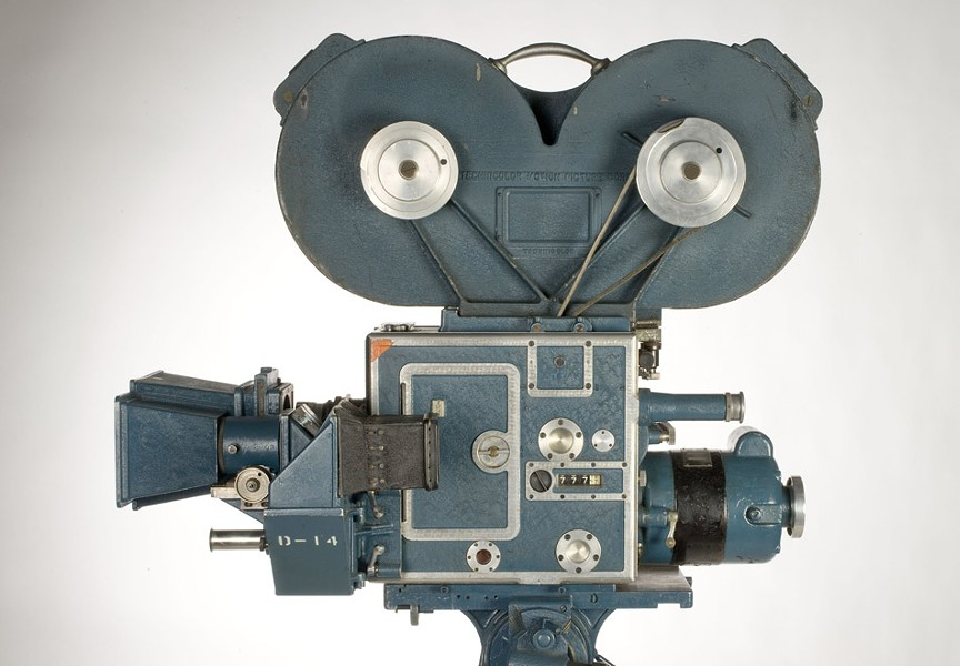 "A three-color camera, part of the ""In Glorious Technicolor"" exhibit at the George Eastman House. - PHOTO PROVIDED"