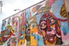 Adam Francey's 2013 Wall-Therapy mural.