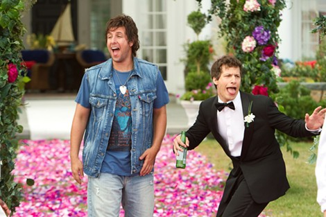 "Adam Sandler and Andy Samberg in ""That's My Boy."" - PHOTO COURTESY COLUMBIA PICTURES"