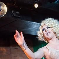 Facelift Fridays Drag Show Aggy Dune PHOTO BY JOHN SCHLIA