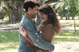 "PHOTO COURTESY WARNER BROS. PICTURES - Alden Ehrenreich and Alice Englert in ""Beautiful Creatures."""