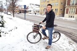 Alex Wirth of Yellew Haus Bicycles. - PHOTO BY LARISSA COE