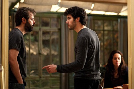 "Ali Mosaffa and Tahar Rahim in ""The Past."" - PHOTO COURTESY SONY PICTURES CLASSICS"