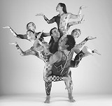 PHOTO BY JOHN KANE, COURTESY JOYCETHEATER - All together, now: Modern dance troupe Pilobolus bursts to life Saturday at Nazareth.
