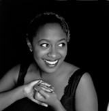 PHOTO COURTESY XEROX ROCHESTER INTERNATIONAL JAZZ FESTIVAL - Along with renditions of the classics and her own originals, singer Cécile McLorin Salvant uses music to explore America's troubled past.