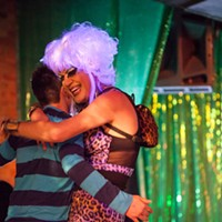 Facelift Fridays Drag Show Ambrosia Salad PHOTO BY JOHN SCHLIA