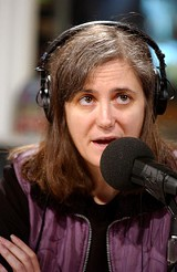 Amy Goodman, intrepid reporter: the Democracy Now! host will speak in October.