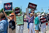 PHOTO BY MATT DETURCK - An anti-fracking rally.