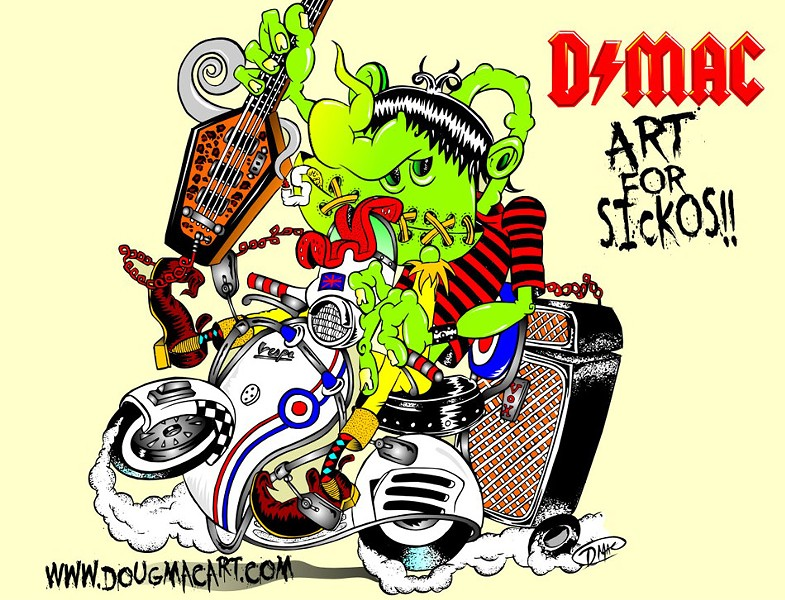 An illustration by Doug Mac. - PHOTO PROVIDED