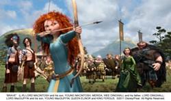 "An image from the latest Pixar animated film, ""Brave."" PHOTO COURTESY DISNEY/PIXAR"