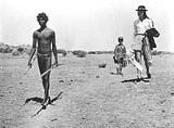 THE GEORGE EASTMAN HOUSE - An intersection of cultures: David Gumpilil, Lucien John, and Jenny Agutter in Walkabout.