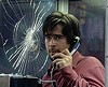 "And your haircut's     stupid, too: Colin Farrell in ""Phone Booth."""