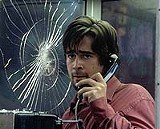 "20TH CENTURY FOX - And your haircut's - stupid, too: Colin Farrell in ""Phone Booth."""
