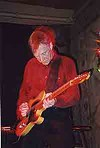 Another regular guy: Dave Edmunds at the Montage Grille.