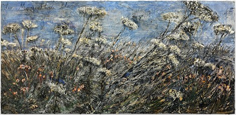 """Anselm Kiefer's """"der Morgenthau Plan,"""" is part of """"Anselm Kiefer: Beyond Landscape,"""" on view through October 5 at Albright-Knox Art Gallery in Buffalo. - PHOTO BY CHARLES DUPRAT"""