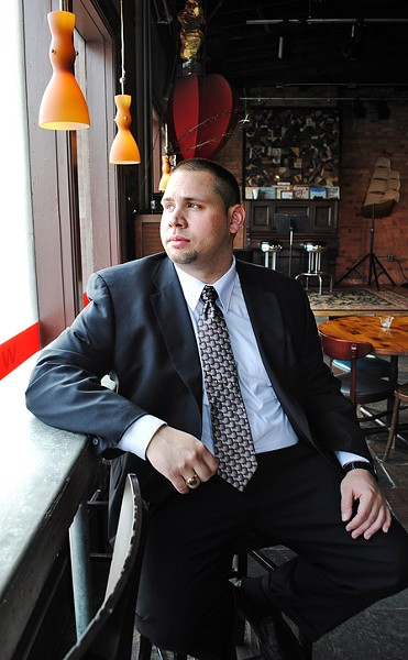 Anthony Plonczynski, leader of the 21st Legislative District Democratic Committee. - FILE PHOTO
