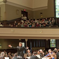 FRINGE SHOWS: Thursday, September 19 Arild Remmereit conducts the Rochester Chamber Orchestra in this show that will incorporate music, poetry, art, dance, and inspirational reflections by local spiritual leaders. For more information visit rochesterchamberorchestra.org. (Thursday 9/19 8 p.m. at Kilbourn Hall. $15.) PHOTO PROVIDED