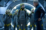 "PHOTO COURTESY SUMMIT ENTERTAINMENT - Asa Butterfield and Harrison Ford in ""Ender's Game."""