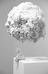 Bad hair day: Jeanne Silverthornes Under a Cloud. Art