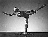 "Balanced bronze: Degas's ""Arabesque."""