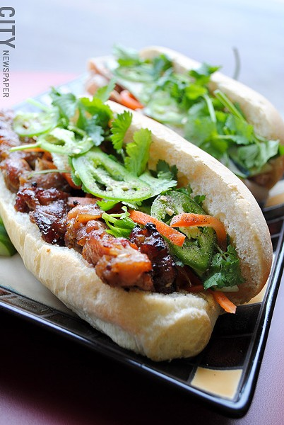 Banh Mi sandwiches from Whatta Banh Mi. - FILE PHOTO