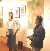 Baobab organizers Thomas Butler and Joseph Perea