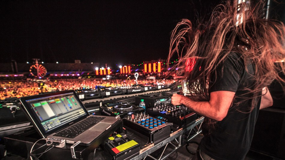 Bassnectar will be dropping the...well, bass, at Camps Bisco (July 11-13). - PHOTO BY MEL D. COLE
