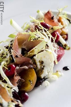 Beet salad - PHOTO BY MARK CHAMBERLIN