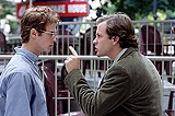 """LIONS GATE FILMS - Before Jayson Blair made it fashionable again: Hayden Christensen and Peter Sarsgaard in """"Shattered Glass."""""""