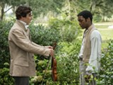 "PHOTO COURTESY FOX SEARCHLIGHT PICTURES - Benedict Cumberbatch and Chiwetel Ejiofor in ""12 Years a Slave."""
