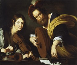 "Bernardo Strozzi, ""Two Musicians"""