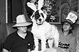 PHOTO BY GARY VENTURA - Best place to wear a hat: Bullwinkles