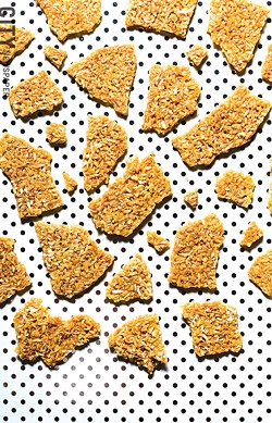 Better Brittle's coconut brittle is easy on the teeth and offers a crispy, crunchy texture. - PHOTO BY MARK CHAMBERLIN