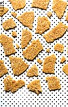 Better Brittle's coconut brittle is easy on the teeth and offers a crispy, crunchy texture.