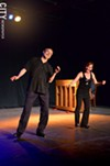 Bill Evans and Cheryl Johnson in Rhythm Tap at RAPA as part of the Rochester Fringe Festival.