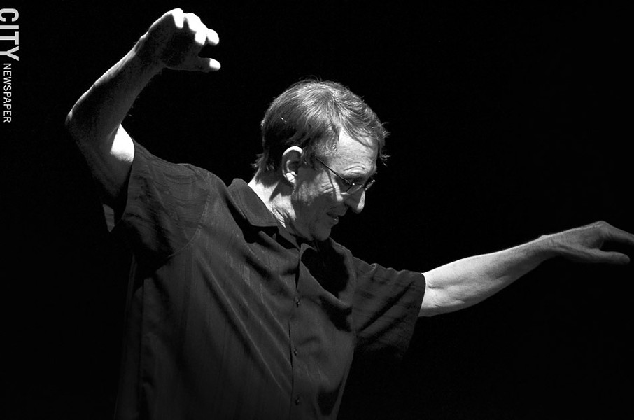 Bill Evans in Rhythm Tap at RAPA. - PHOTO BY MATT DETURCK
