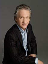PHOTO BY ALBERTO TOLOT / COURTESY HBO - Bill Maher: Bringing his mix of laughs and politics to Rochester.