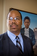 Board president Van White - FILE PHOTO