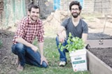 PHOTO BY MARK CHAMBERLIN - Brent Arnold and Steve Kraft are starting a composting service.