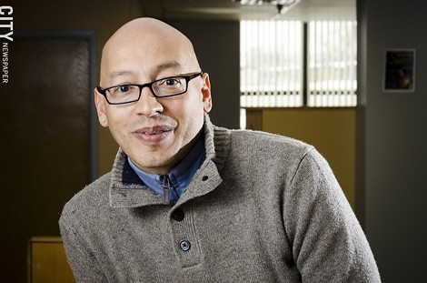 Bruce Smail is executive director of the MOCHA Center, an organization that works with people of color on the prevention of HIV. - PHOTO BY MARK CHAMBERLIN