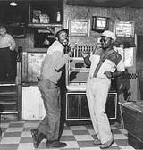 Buffalo 72: Johnny Lee Wines and Zeke Johnson do the Kung Fu.