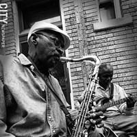 Jazz Fest Retrospective Buskers performing around the Jazz Fest
